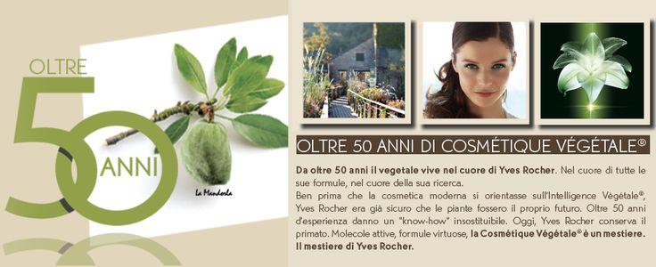 Scopri Yves Rocher: la marca della Cosmétique Végétale® #yvesrocher