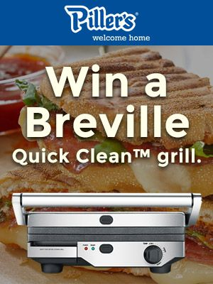 Win a Breville Quick-Clean Grill