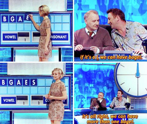 """When Lee Mack had a plan B (-A-G-E-L-S). 