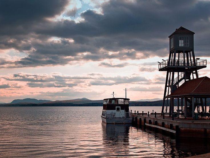 MacPherson Wharf, Magog, Quebec, Canada