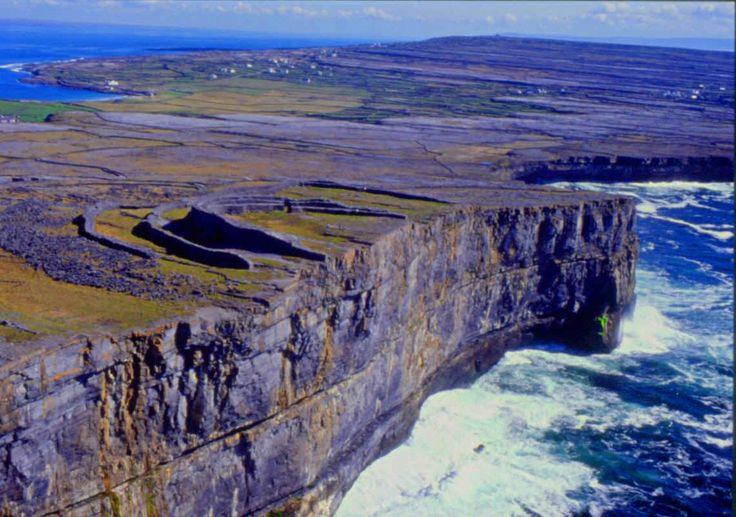 Aran islands, Ireland. Amazing view!