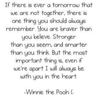 Winnie the Pooh-some of the best quotes :)Words Of Wisdom, Remember This, Pooh Quotes, Inspiration, Pooh Bears, Winniethepooh, Favorite Quotes, Winnie The Pooh, Living