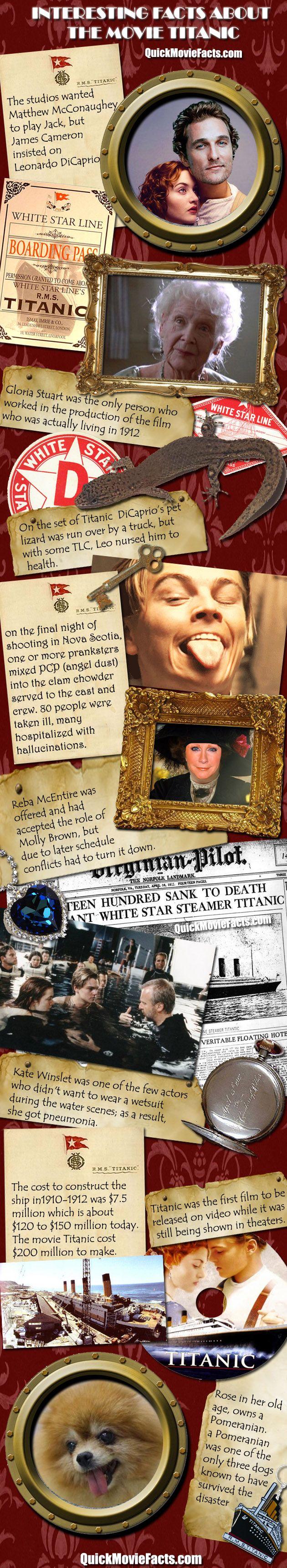 Amazing titanic movie facts