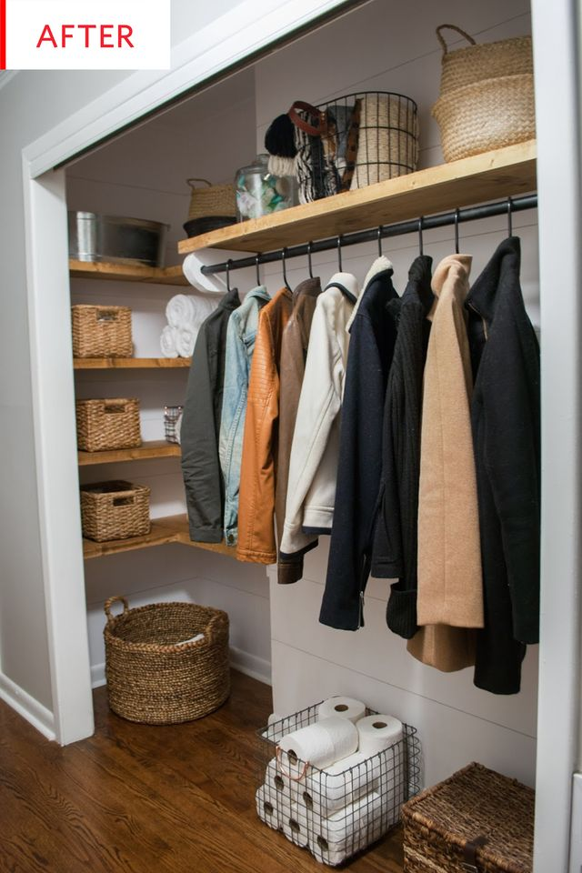 How to Organize A Doorless Closet | Apartment Therapy