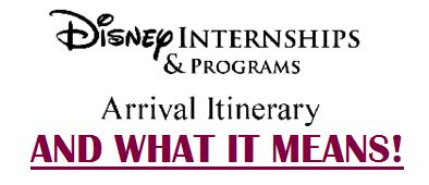 Disney RAISED: Disney DCP Arrival Itinerary Questions about the disney college program! This is what Arrival and Check-in are like! Check it out!