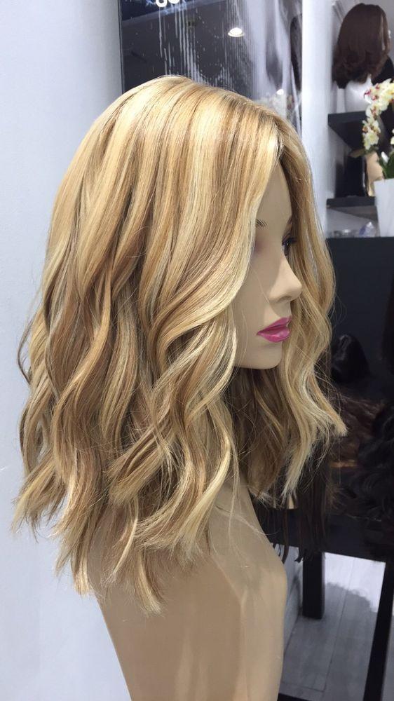 Yaffa Wigs Ready To Wear Blonde European Human Hair Short Wig #YaffaWigs