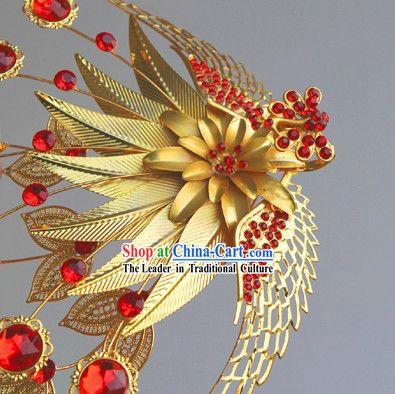 Chinese Bride Wedding Phoenix Crown