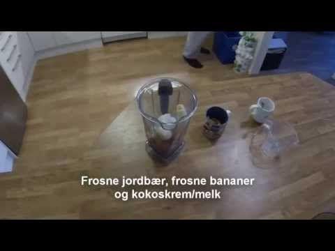 Jordbæris med cashewcrunch - http://sunndessert.no/jordbaeris-med-cashewcrunch/