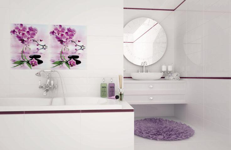 керамическая плитка  для ванной комнаты Opoczno Japanese garden