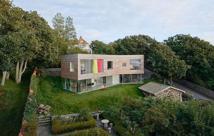 Modig arkitektur av Elding Oscarson, foto Åke E:son Lindman – http://www.tidningentra.se/reportage/innovativ-arkitektur-kraver-mod #arkitektur i #trä