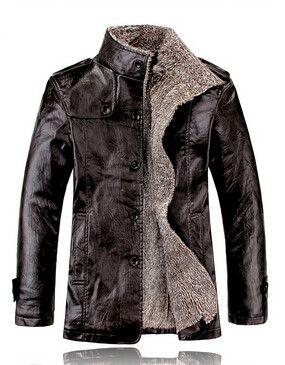 Winter Men Leather Jacket - Pulse Designer Fashion || Make a bespoke leather…