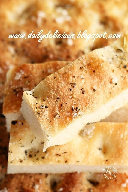 Happy Cooking with LG SolarDom: Baking Italian bread, Focaccia