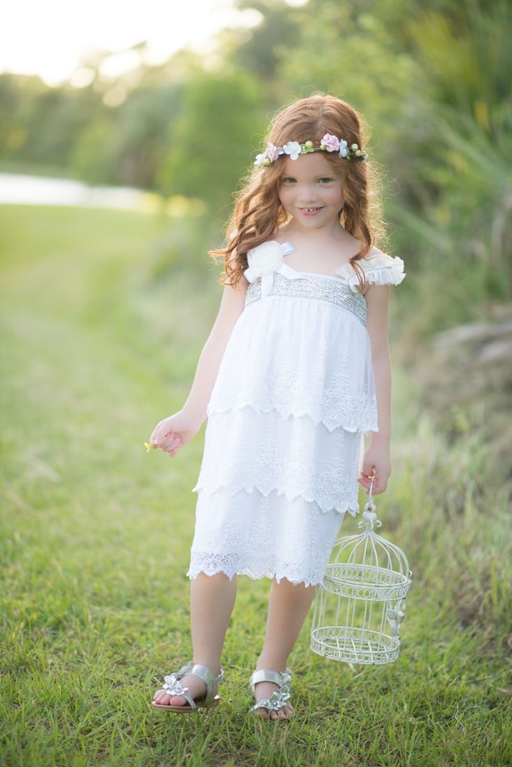 flower girls by Tea Princess photo by Luminescence Studios hair,makeup, styling & floral halos Style me Jaime