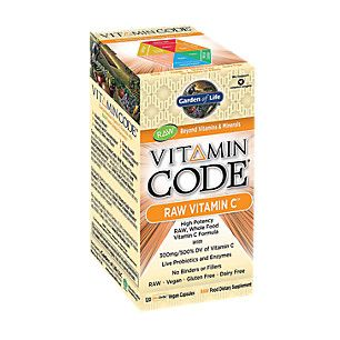 Vitamin Code Raw Vitamin C (120 Veggie Caps)  by Garden of Life at the Vitamin Shoppe