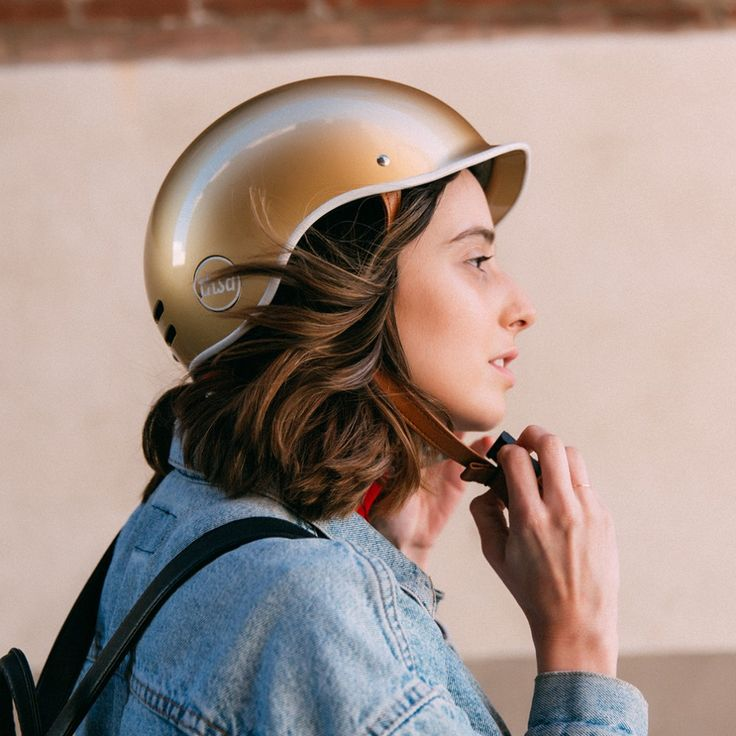 Thousand Bicycle Helmet - Stay Gold | Cyclechic