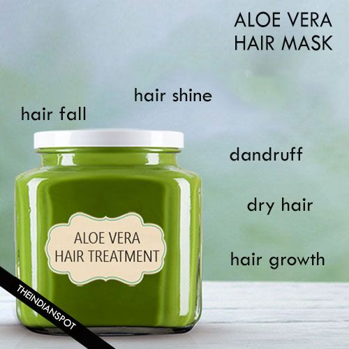 5 Best Natural Aloe Vera hair mask for Shiny, Healthy and Beautiful Hair - I made the honey, aloe, coconut mask