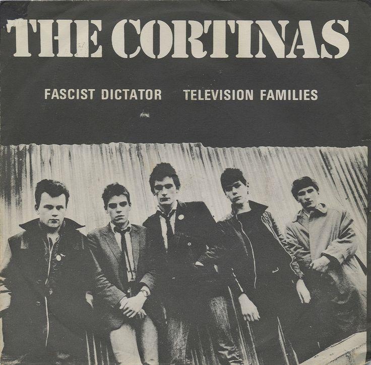 "The Cortinas - Fascist Dictator [1977,  Step Forward Records SF1│U.K.] - 7""/45 vinyl record"