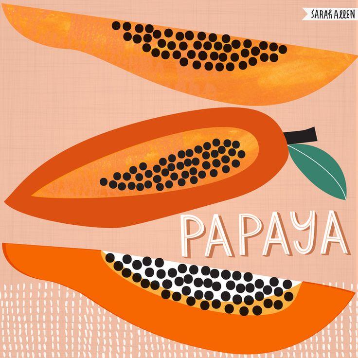Papaya | Sarah Allen