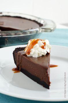 Čokoládová lanýžová torta