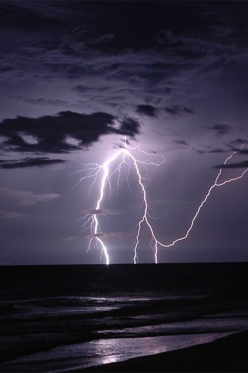 Lightning, leagues high, met the water with a brilliant flash of light and he feared for those who were in the rigging.