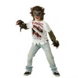 Kids wolf costumes are spooky, scary fun for Halloween. There are many cool ready-made costumes for boys and girls. You can also create a cool wolf costume with fun werewolf accessories.