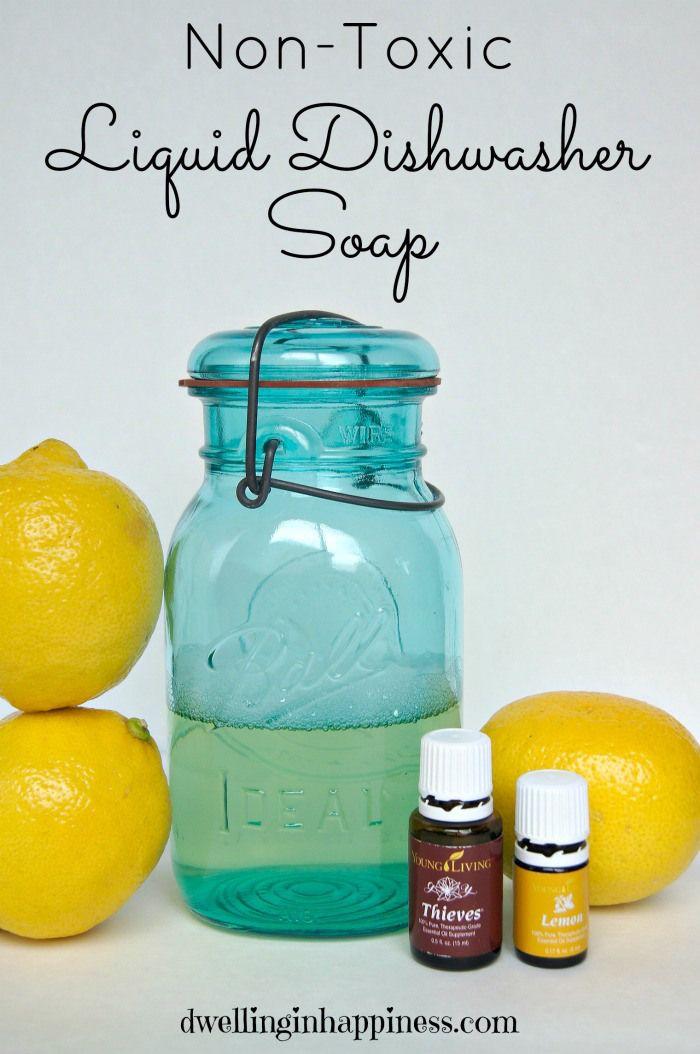 Non-Toxic Liquid Dishwasher Soap #TriplePFeature