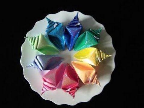 Bearutiful Conch Origami instruction ( full version)