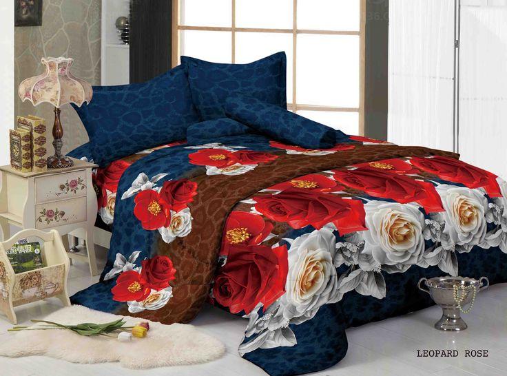 """LEOAPRD ROSE - """"Kombinasi motif leopard bebalut rose merah yang berani dan mewah"""""""