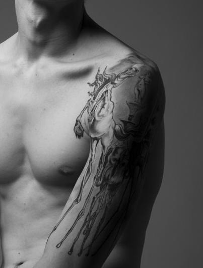 salvador dali tattoo tattoo pinterest salvador the o 39 jays and dali. Black Bedroom Furniture Sets. Home Design Ideas