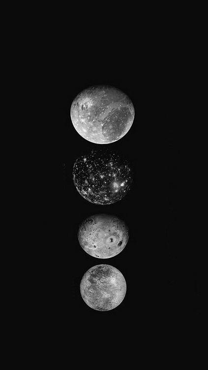 Moons iPhone 5 Wallpaper
