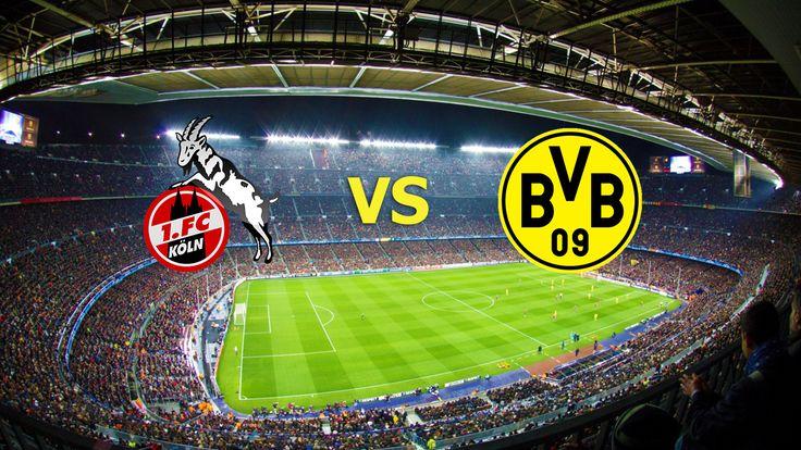 Ver Köln vs Borussia Dortmund EN VIVO Online Bundesliga 10 de Diciembre 2016