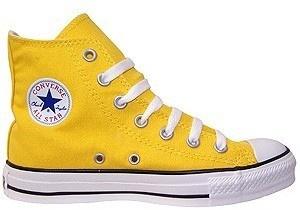 Yellow Converse Chuck Taylor High-Tops<3