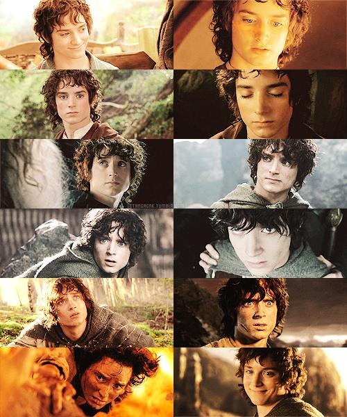 LOTR 30 day challenge: Day 9: Favorite Hobbit: Frodo Baggins