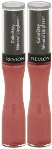 Colorstay Mineral Lipglaze #535 ETERNAL BLOSSOM (PACK OF 2) BY REVLON. Lip gloss is infused with a unique mineral complex that adds glossy color to lips. ColorStay Mineral Lipglaze by Revlon is designed to last for up to 8 hours without touchups. Protects lips from dryness, too.