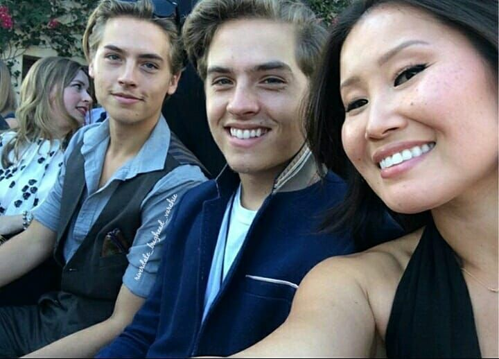 Cole And Dylan With Their Stepmother Chrissy Dylan And Cole