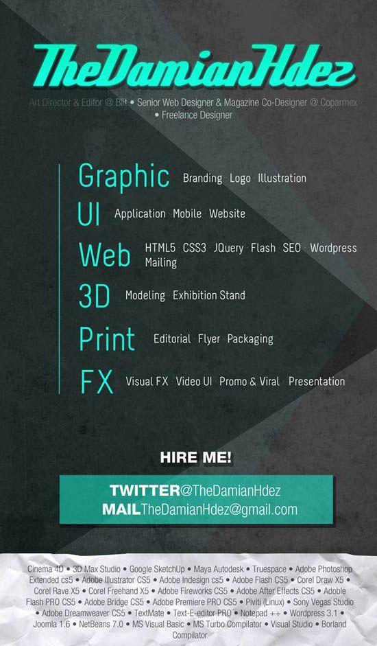 51 best CV images on Pinterest   Resume design, Resume and Curriculum