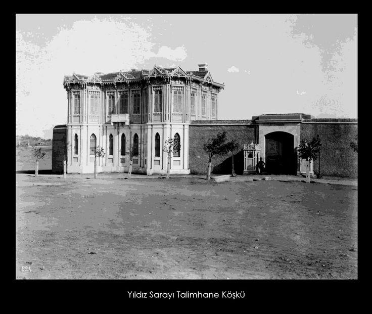 İstanbul-Yıldız Sarayı Talimhane Köşkü