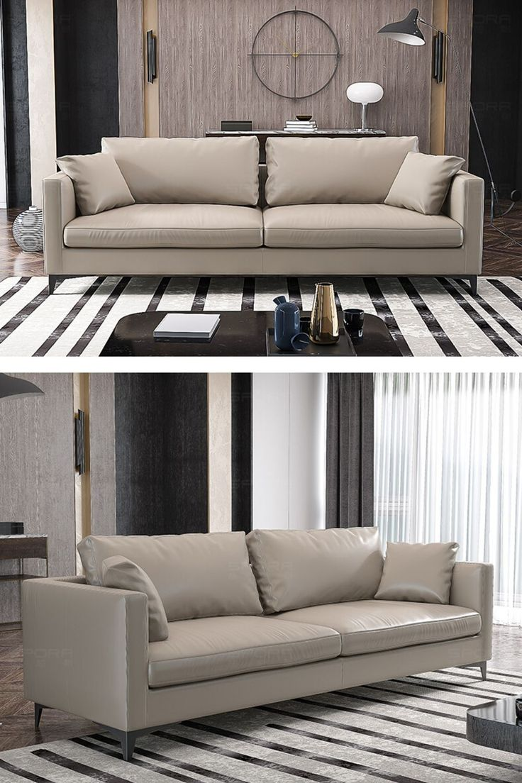 White leather living room sofa couch design   Sofa couch ...