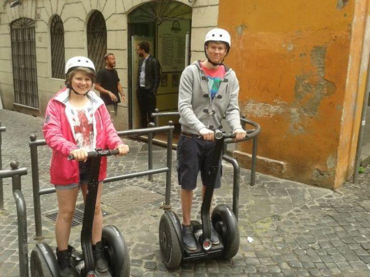 Segway tour in #Rome - #WeLoveItalyXP #travel #tourist #trip #italyXP #segway