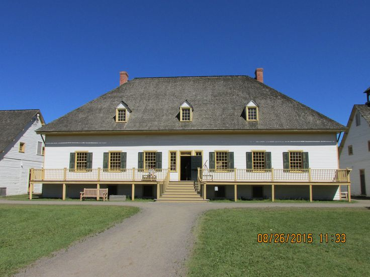 Council House at Fort William Historical Park in Thunder Bay, ON