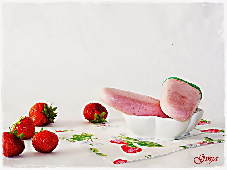 As várias faces da Ginja: Gelados de morango e iogurte