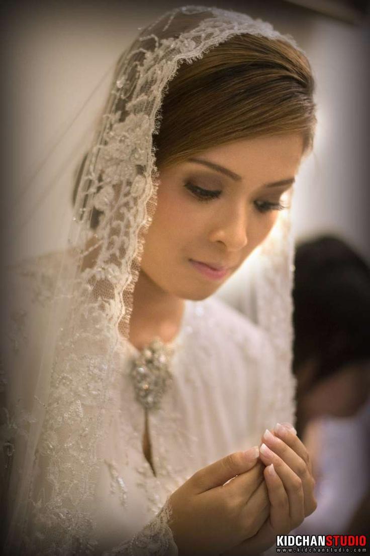 Bride Baju Kurung & Veil