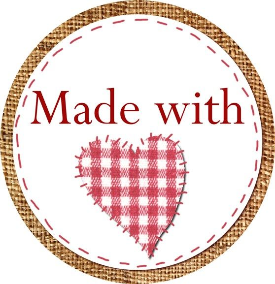 Free printable tag for handmade gifts!