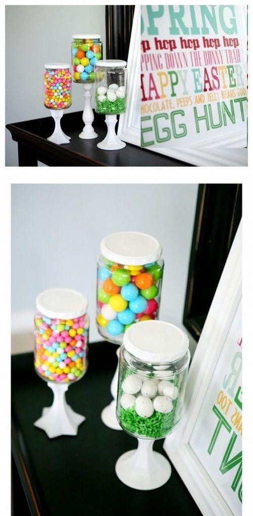 DIY Candy Buffet Jars
