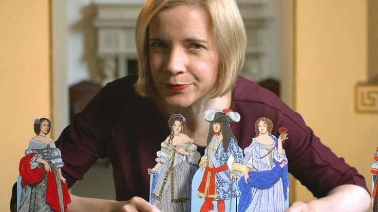 The Drop-Dead Gorgeous Dr. Lucy Worsley.