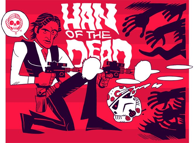 "MISTERHIPP: HAN OF THE DEAD (or ""THEY'RE COMING TO GET YOU, LEIA!"")"