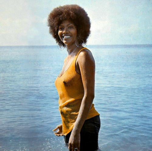 Marcia Griffiths the first lady of reggae having had success as a solo artist, with Bob and Marcia and the I-Threes Bob Marley's backing singers