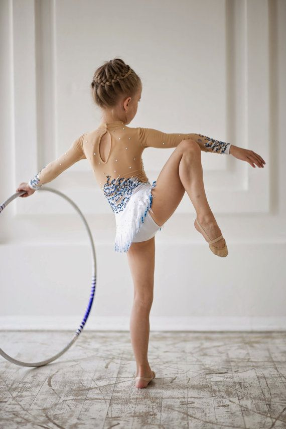 Leotardo de gimnasia rítmica diseñador hermoso por artmaisternia