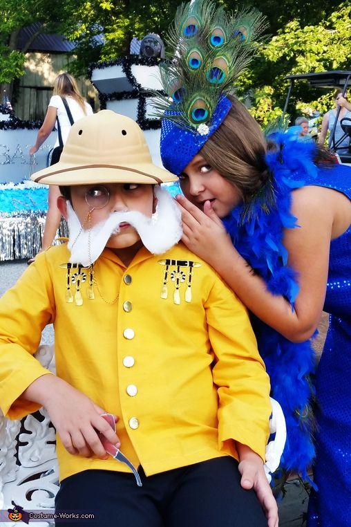 Colonel Mustard & Mrs. Peacock - 2015 Halloween Costume Contest via @costume_works