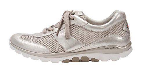 Gabor Comfort Damenschuhe 46.966.62 Damen Schnürhalbschuhe Sneaker Elfenbein (puder), EU 37 - http://on-line-kaufen.de/gabor/4-uk-gabor-helen-damen-sneaker